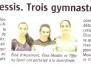 Gymnastique à Limoges - Presse LT