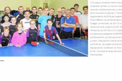 Tennis de table - Article LT