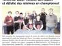 TT - Champ. des jeunes - presse LT