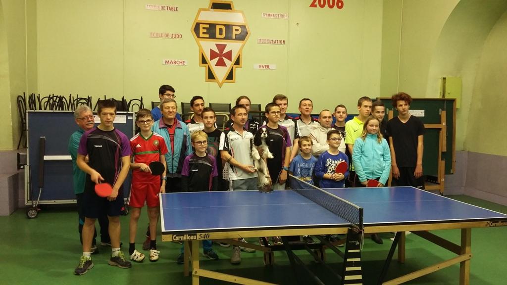 Tennis de table convocations du vendredi 24 f vrier - Championnat departemental tennis de table ...