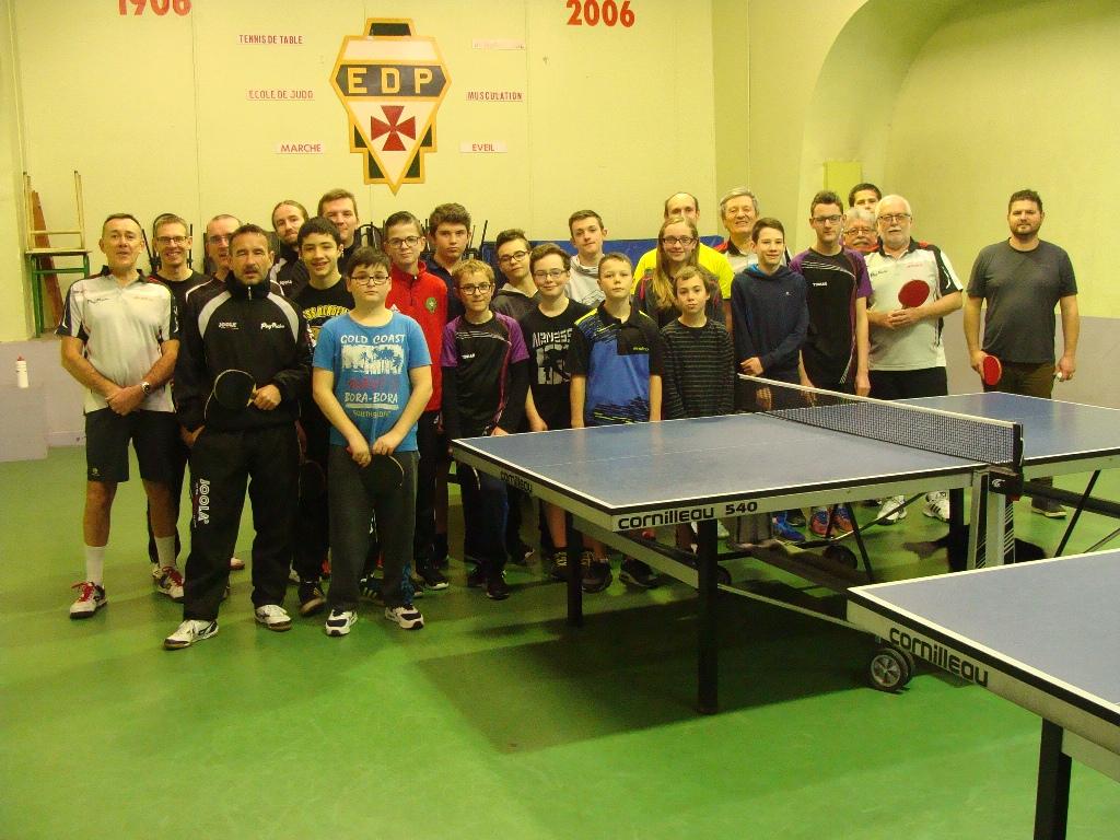 Tennis de table convocations du vendredi 09 mars les - Championnat departemental tennis de table ...